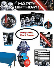 Star Wars Classic Children's Ultimate Birthday Party Pack (8 Guests)