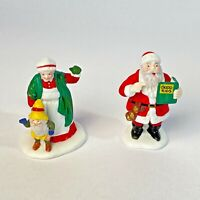 Dept 56 Heritage Village Santa & Mrs. Clause #5609-0 with Box ~ Retired