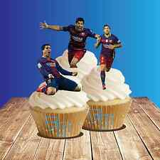 Luis Suarez Mix Cake Toppers Wafer Card Novelty Decorations Barcelona Football