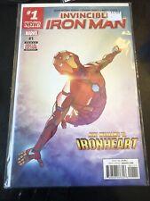 Invincible Iron Man #1 (riri Williams Ironheart)