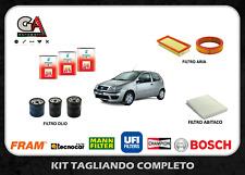 Kit tagliando Fiat Punto 188 1.2 8v 44kw 60cv benzina 3lt Selenia 20K 10W40