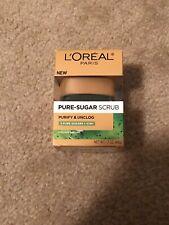 L'Oréal Paris Pure Sugar Scrub Purify & Unclog - 3 Pure Sugars & Kiwi