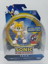 Sonic the Hedgehog TAILS Game Articulated Action Figure with Invincible Item
