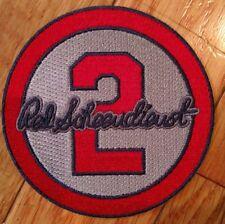 2018 Red Schoendienst Memorial Jersey Patch (Road Grey) - St. Louis Cardinals