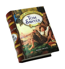 2016 Aventuras de Tom Sawyer new hardcover Miniature Book en Español ilustrado