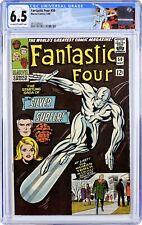 Fantastic Four #50 CGC 6.5 Silver Surfer battles Galactus! Jack Kirby Stan Lee