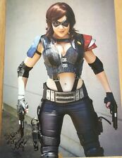 Nicole Marie Jean Cosplay Comic con Signed Autographed Picture 11x17 Super Hero