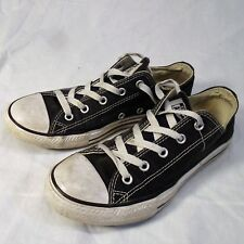 Converse Youth Black Shoes Size 3 Chuck Taylor All Stars