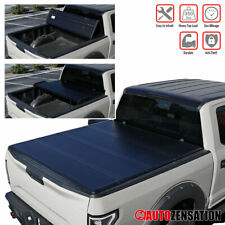 """For 2004-2014 Ford F150 Styleside 6.5ft 78"""" Bed Hard Quad Fold Tonneau Cover"""
