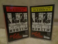 ROGER WATERS Live In Berlin The Wall 2 x MC'S, CASSETTES VEGA - RARE PRESS