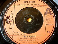 "MIKE BERRY - I'M A ROCKER  7"" VINYL"