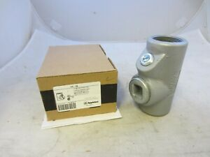 """APPLETON EYF150 1-1/2"""" EXPLOSION PROOF SEAL OFF EYS CROUSE HINDS *SAME DAY SHIP"""