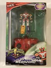 Mighty Morphin Power Rangers I/R Air Attack Dino Megazord 2010 Untested As Is
