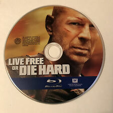 Die Hard 4: Live Free or Die Hard (Blu-ray Disc, 2009) Blu Ray Disc Only
