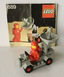 """VINTAGE LEGO #889~ """"RADAR TRUCK"""" ~ SPACE: CLASSIC SPACE ~ 1979 ~ 100% COMPLETE"""