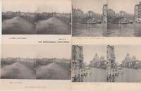 ITALY 344 Vintage STEREO Postcards pre-1940