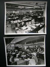 Rolls Royce Aero Service Dept- 2 x Original 1940s? RR Press photo 8.5 x 6.5""