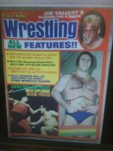 Wrestling Magazine WWWF NWA July 1974 AWA Ring Revue Ben Strong Japanese Ladies