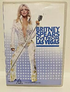 ' Britney Spears Live from Las Vegas '  Music DVD 20 Songs Free post