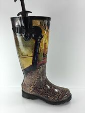 Icon Womens Graphic Rubber Boots 5