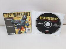 MECH WARRIOR 2 PC Game Windows 95 Japan Game pc