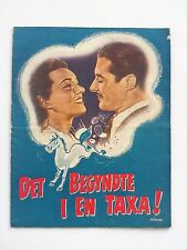 "Danish movie program.""That´s My Man"" 1947.Don Ameche.Catherine McLeod."