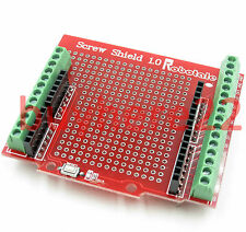 Prototype Screw Shield for Arduino UNO R3  with Reset Button And LED UK Seller