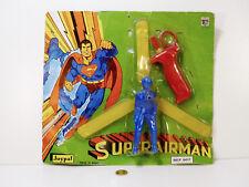 JUYPAL N° 507 Superman, SUPERAIRMAN  jouet des années '70  Neuf/Blister (#A9)