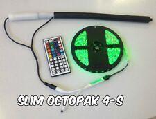 Slim OCTOPAK (TM) 4-S 1 X 8 LED Strip Light Battery Pack for RGB LED Strip Light