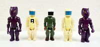 Vintage 1984 Fisher-Price Construx Astronauts and Aliens Figure Lot of 5