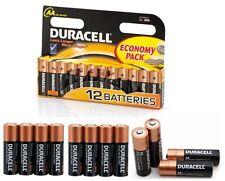 AA Duracell Alkaline Battery MN1500 / LR6 Longer Lasting Power 12 Batteries 1.5V