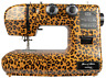 Leopard Print Eastman Tailor 22 Stitch Sewing Machine