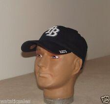 Tampa Bay Rays Blue Raised Logo Baseball Hat New MLB Cap One Size Adult