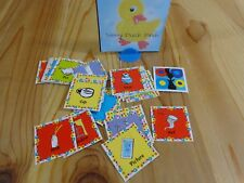 DR SEUSS 3 GAMES IN 1 Replacement Parts 40 CAT IN HAT SQUARE ABC PICTURE CARDS