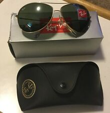 Ray-Ban RB 3454L Sunglasses 001/71 Gold  / Green Gradient Lenses