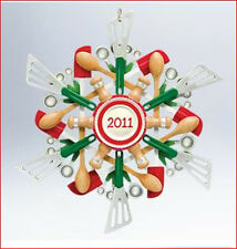 2011 Hallmark COOKING Kitchen BAKING Ornament SAVORY SNOWFLAKE *Priority Ship