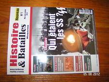 Histoire & Batailles n°1 Waffen Gengis Khan Baudouin IV
