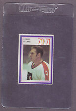 1970-71 Esso Hockey Stamp Larry Hillman Philadelphia Flyers