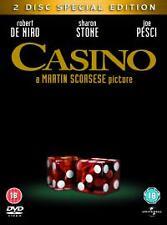 Casino (DVD, 2005, 2-Disc Set) R.DeNIRO  & J.PESCI ( BRAND NEW & SEALED )