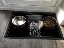 Pet feeding mat Peaky Barkers Boxer dog  - Pet feeding mat 60 x 40 cm Large Mat