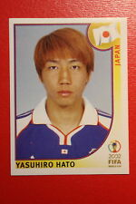 PANINI KOREA JAPAN 2002 # 535 JAPAN HATO WITH BLACK BACK MINT!!!