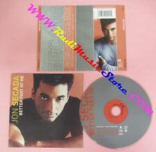 CD JON SECADA Better Part Of Me 2000 Germany EPIC 494909 2 no lp mc dvd (CS15)