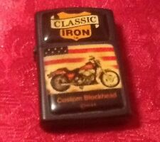 Classic Iron Lighter New Old Stock 1994  A.A.D.L.P.