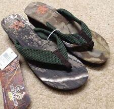 7d15fa98b3d2a6 Womens Ladies Realtree Xtra AP Camo Flip Flops Sandals HEELS Size 10