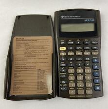 Texas Instruments Ba Ii Plus Advanced Financial Business Analyst Calculator