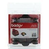 Badgy BDG204EU YMCKO Ribbon - 100 Prints  Evolis Badgy1 (First Gen)+Cleaning Kit