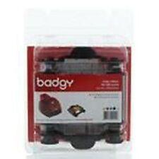 Badgy BDG204EU YMCKO Ribbon - 100 Prints Evolis Badgy1 (first Gen) Cleaning Kit