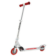 Razor A3 Folding Aluminum Kick Scooter with Brake, Red (Certified Refurbished)
