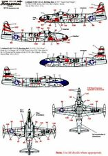 Xtradecal 1/72 T-33A/P-80C Shooting Star Part 1 # 72120