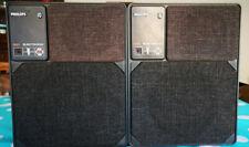 A PAIR of PHILIPS 22RH541/00R 22 RH 541 Vintage MFB Speakers